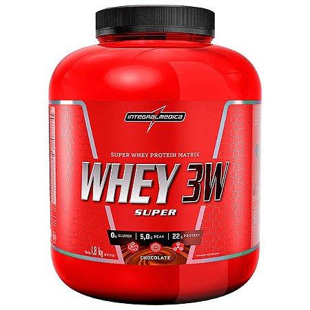 Whey 3w Super 1,8kg Chocolate Rf Integralmedica
