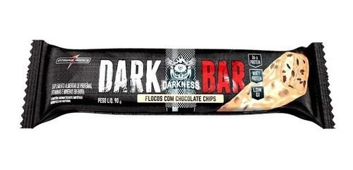 Dark Bar Floco C/ Choco Branco 90g Darkness