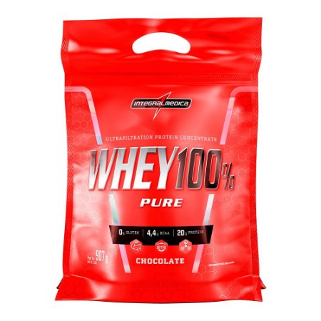 Whey 100% 907g Rf Chocolate Inetegralmedica