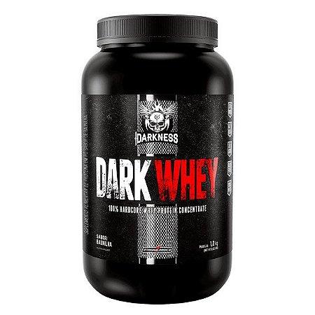 Dark Whey 100% 1,2kg Baunilha Darkness