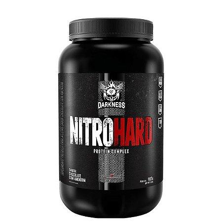 Nitro Hard 907g Chocolate C/ Amendoim Darkness
