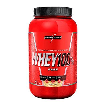 Whey 100% Pure 907g Baunilha Integralmedica