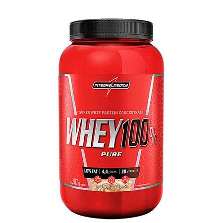 Whey 100% Pure 907g Cookies e Cream Integralmedica