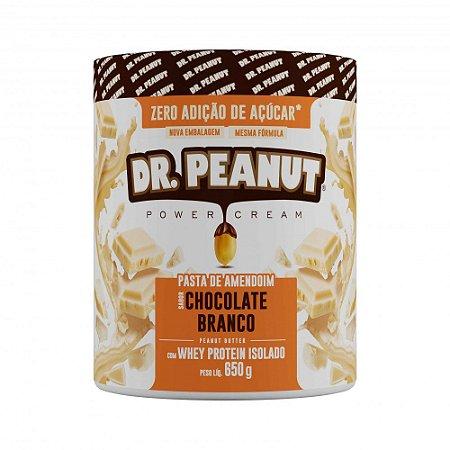 Pasta De Amendoim 650g Chocolate Branco Dr.peanut