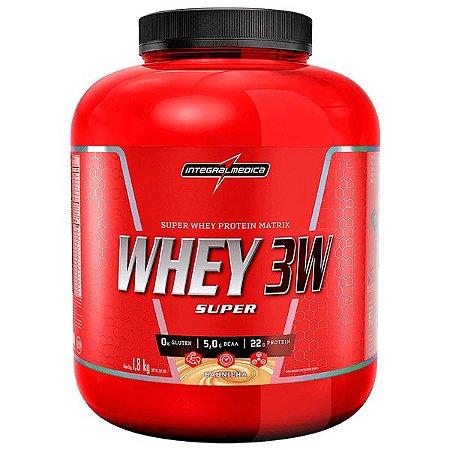 Super Whey 3w Pt 1,8kg Baunilha Integralmedica