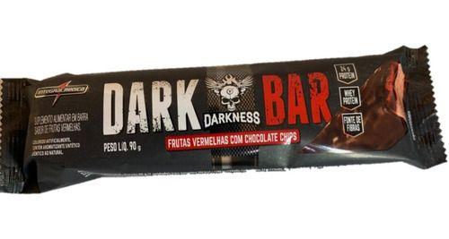 Dark Bar 90g Frutas Vermelhas Com Chocolate Chips