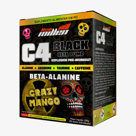 C4 Black Explosion 220g Crazy Mango