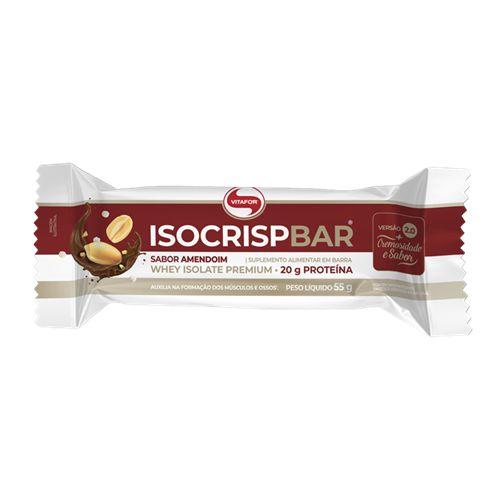 Isocrisp Bar 55g Amendoim Vitafor