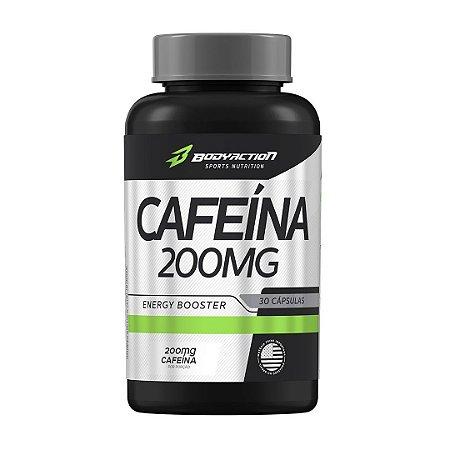 Cafeína 200mg 30 Cáps Bodyaction
