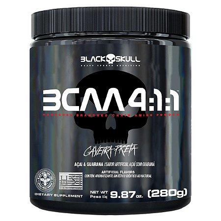 Bcaa 4:1:1 280g Guaraná C/ Açaí Black Skull