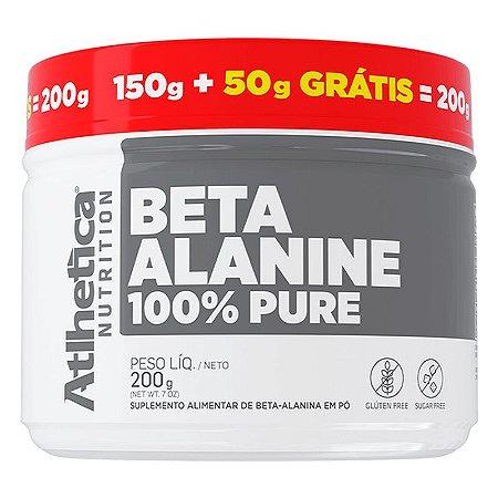 Beta Alanina 100% Pure 200g (150g + 50g Grátis) Atlhetica