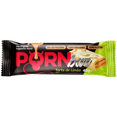 Porn Bar 40g Torta De Limão Hot Fit