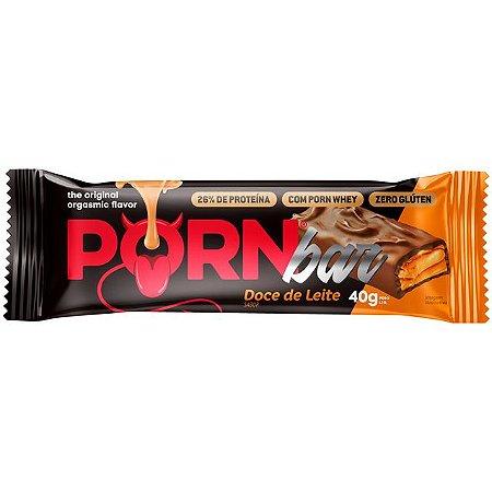 Porn Bar 40g Doce De Leite Hot Fit