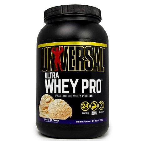 Ultra Whey Pro Universal 909g Soevete De Baunilha