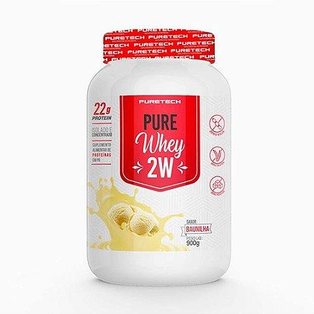 Whey Pure 2w 900g Baunilha Puretech
