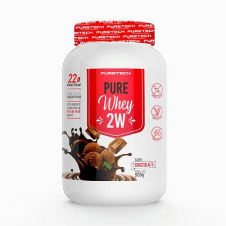 Whey Pure 2w 900g Chocolate Puretech