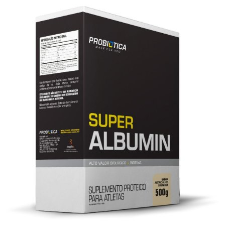 Super Albumin 500g Baunilha Probiótica