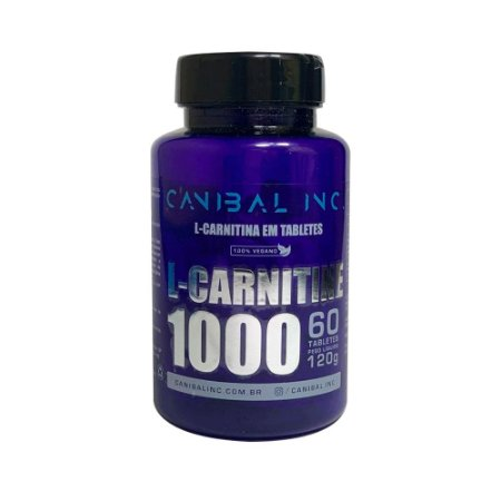 L-carnitine 1000mg 60 Tabletes Canibal Inc