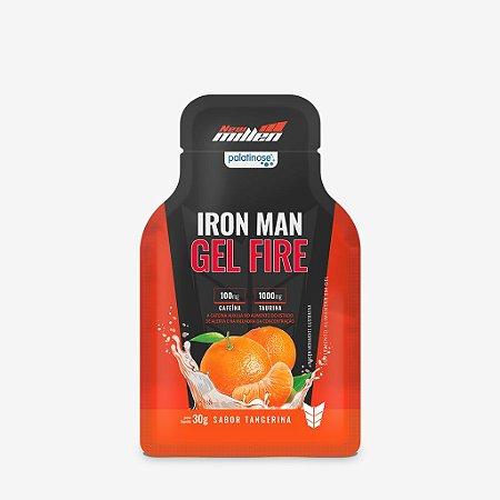 Iron Man Gel Fire 30g Tangerina New Millen
