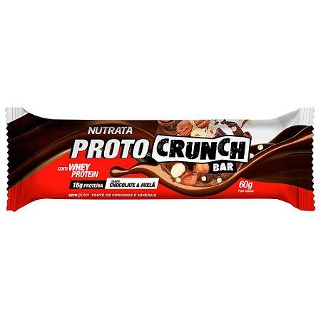 Proto Crunch Bar 60g Chocolate e Avelã Nutrata