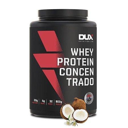 Whey Protein Concentrado 900g Coco Dux Nutrition