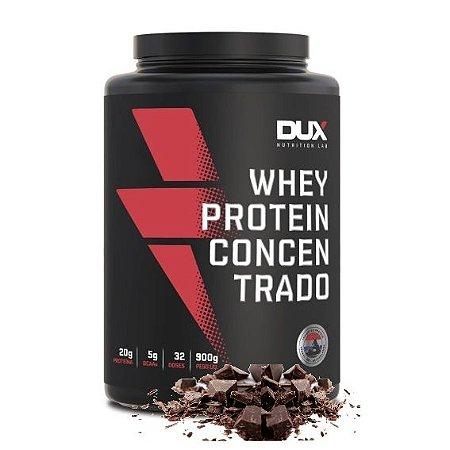 Whey Protein Concentrado 900g Chocolate Dux Nutrition