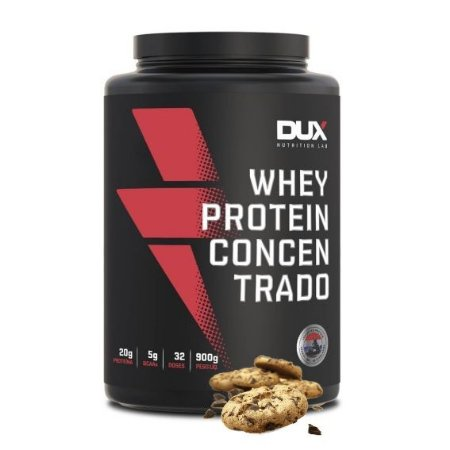 Whey Protein Concentrado 900g Cookies Dux Nutrition