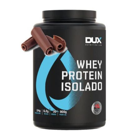 Whey Protein Isolado 900g Chocolate Dux Nutrition