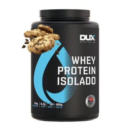 Whey Protein Isolado 900g Cookies Dux Nutrition