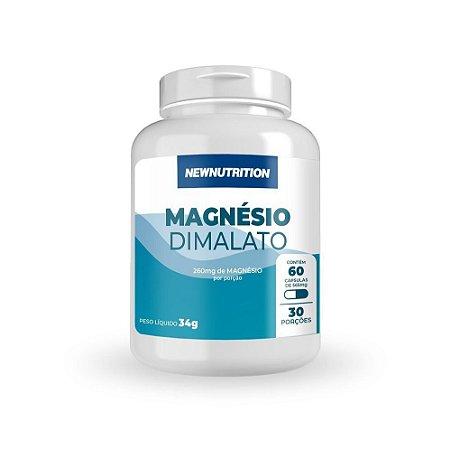 Magnésio Dimalato 60 Cápsulas Newnutrition