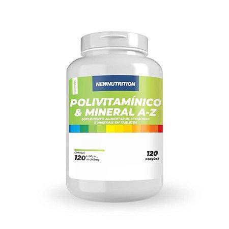 Polivitamínico e Mineral A-z 120 Tabletes Newnutrition