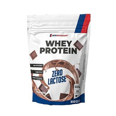 Whey Zero Lactose 900g Chocolate Newnutrition