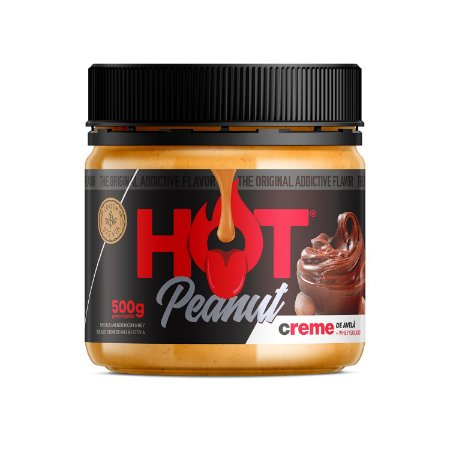 Pasta De Amendoim 500g Creme De Avelã Hot Fit