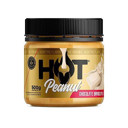 Pasta De Amendoim 500g Chocolate Branco Hot Fit