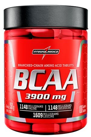 BCAA 100 TABLETES COM 3900MG - INTEGRAMEDICA