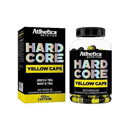 Hardcore Yellow 120 Cáps Atlhetica Nutrition