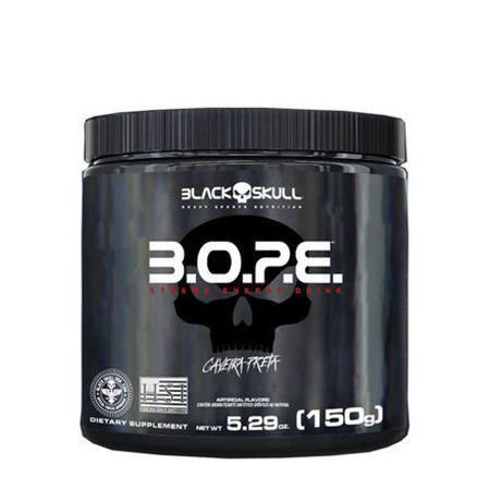 PRÉ TREINO 150G BOPE BLACK SKULL
