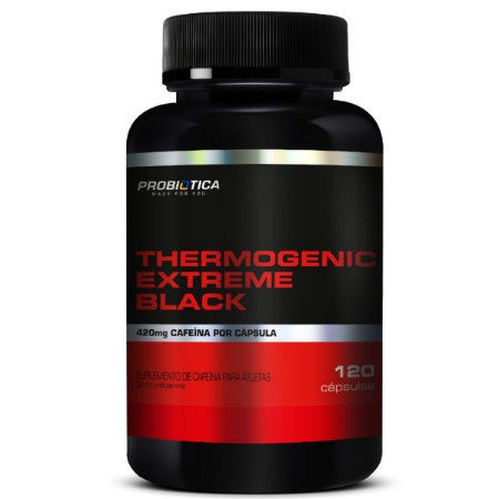 Thermogenic Extreme Black 120 Cáps Probiótica