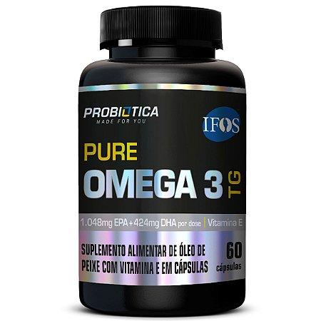 Pure Ômega 3 TG 60 Cáps Probiótica