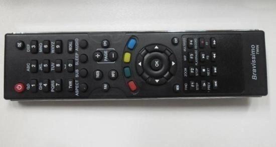 Controle para Receptor Az Box Bravissimo TWIN FBG 7419