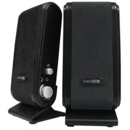 Caixa de som SATE S-001 Preta