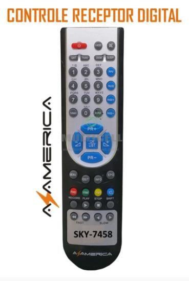 CONTROLE AZAMERICA SKY-7458