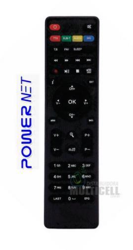 CONTROLE REMOTO POWER NET SKY-7078