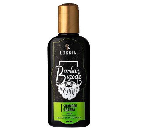 Shampoo para Barba e Bigode Lorkin 140ml