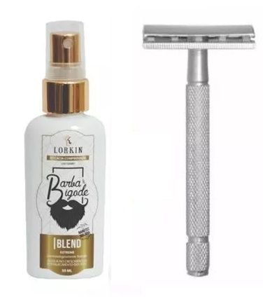 Blend Extreme Lorkin 50 ML + Barbeador Clássico