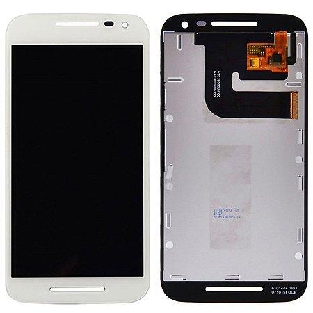 Tela Touch Display LCD Modulo Frontal Sem Aro Motorola Moto G3 Branco