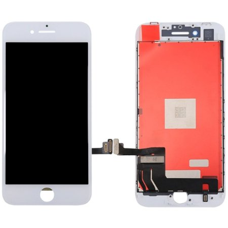Tela Touch Display LCD Modulo Frontal Com Aro Apple iPhone 8 Branco
