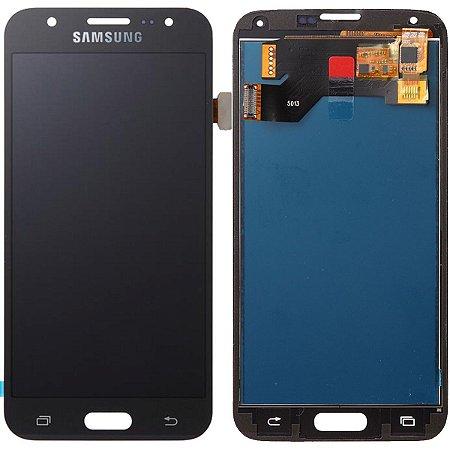Tela Touch Display LCD Modulo Frontal Sem Aro Samsung Galaxy S5 I9600 G900 Preto