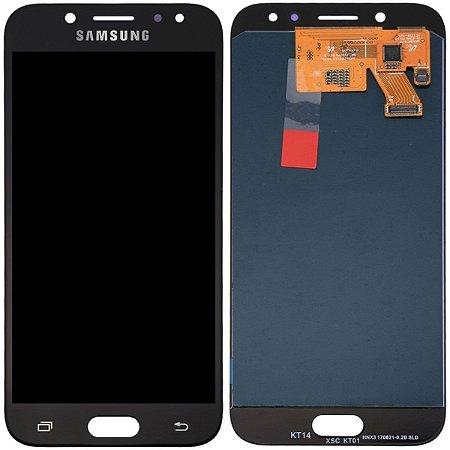 Tela Touch Display LCD Modulo Frontal Sem Aro Samsung Galaxy J5 Pro J530 Preto