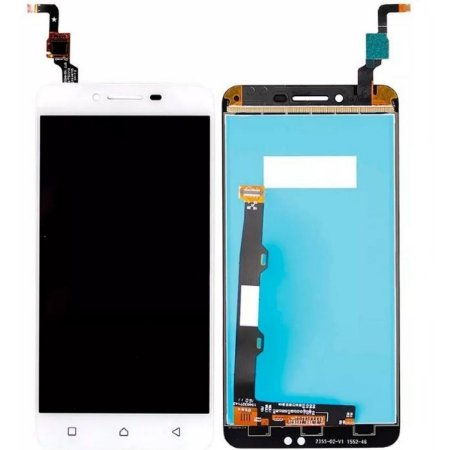 Tela Touch Display LCD Modulo Frontal Sem Aro Lenovo Vibe K5 Plus A6020A46 Branco